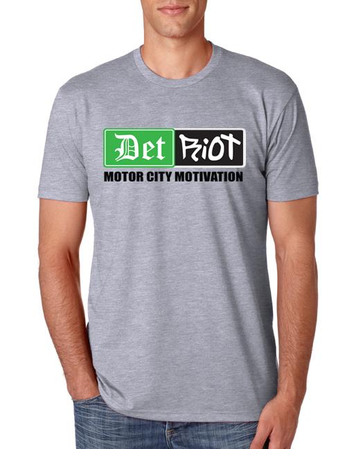 Detroit Motivation Grey Mens