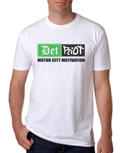Detroit Motivation White Mens