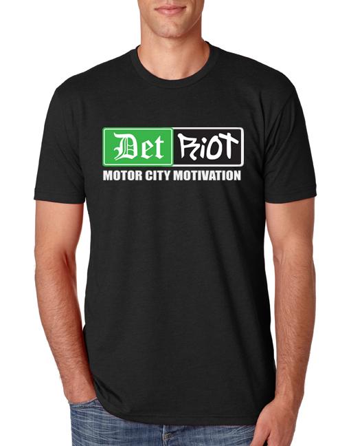 Detroit Motvation Black Mens