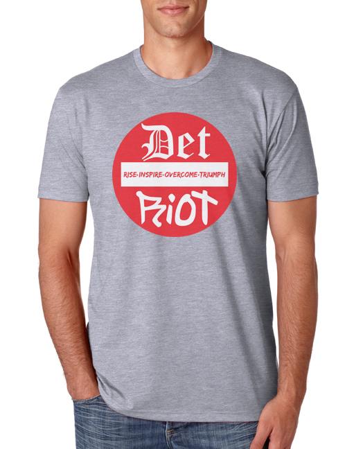 Detroit Stop Grey Mens