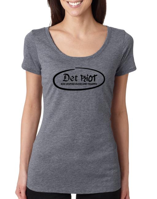 Detroit Oval Grey Womens