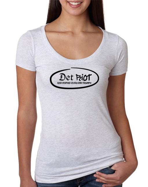 Detroit Oval White Womens